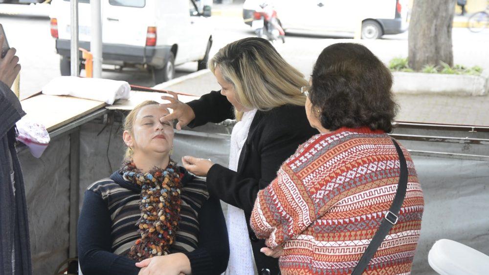 Ação social ofereceu serviços de beleza e de saúde para a população