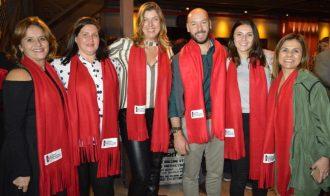Prefeito eleito, Vinicius Claussen, com integrantes do Polo Gastronômico de Teresópolis