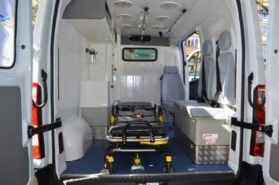 Ambulância é específica para transporte e atendimento no local