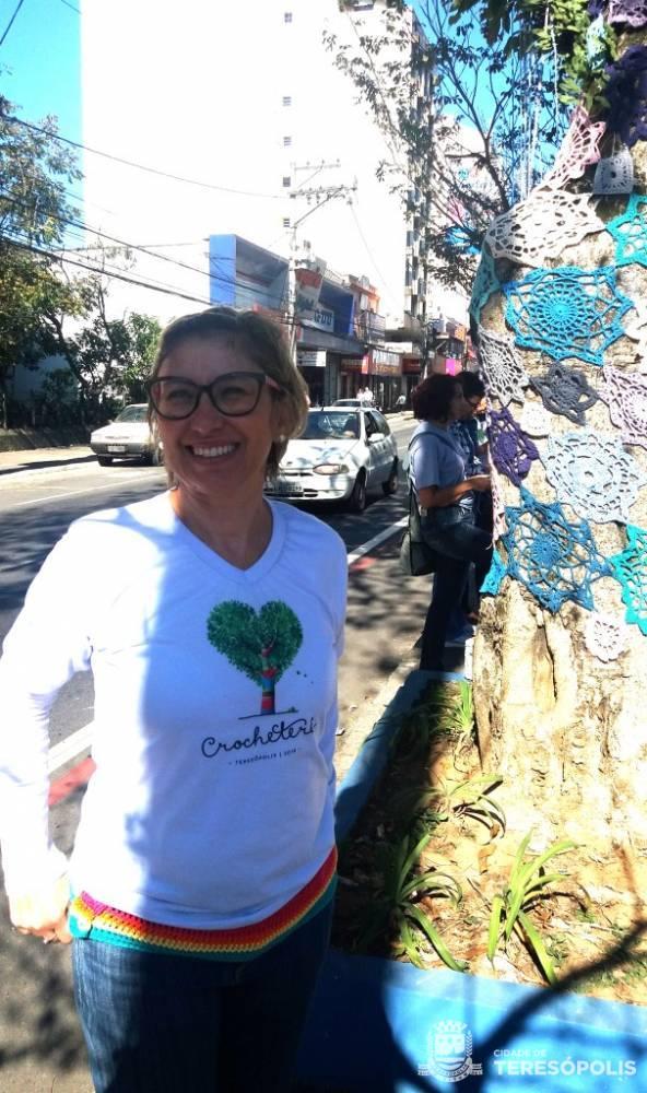 Márcia Filgueiras, autora da iniciativa