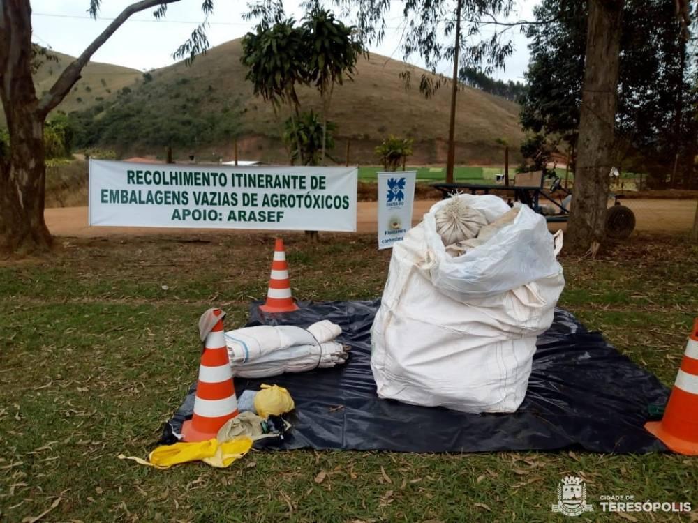 TERMINA A SEMANA DE RECOLHIMENTO DE EMBALAGENS DE AGROTÓXICO