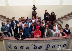 PROJETO 'OLHAR TERESÓPOLIS' DA SECRETARIA DE TURISMO FAZ CITY TOUR COM ALUNOS DA REDE PÚBLICA MUNICIPAL