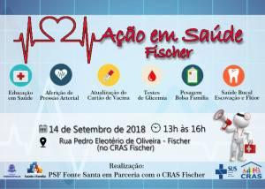 AÇÃO EM SAÚDE LEVA VÁRIOS SERVIÇOS AOS MORADORES DO FISCHER