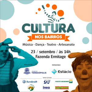 'CULTURA NOS BAIRROS' LEVA MÚSICA E DIVERSÃO AOS MORADORES DO PARQUE ERMITAGE