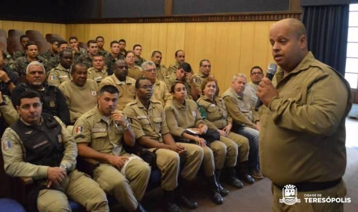 Gil Wellington, comandante da Guarda Civil Municipal de Teresópolis, destaca a valorização dos servidores, por meio da capacitação e reciclagem