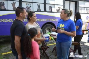 CERCA DE 40 CÃES E GATOS SÃO CASTRADOS EM AÇÃO GRATUITA EM TERESÓPOLIS