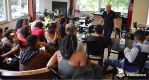 'JOVEM ALERTA': PROJETO CHEGA À RETA FINAL COM PALESTRA MOTIVACIONAL DE EMPREENDEDOR