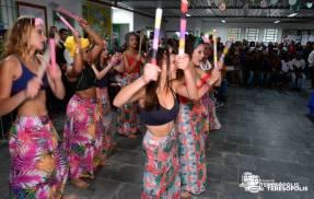 Apresentação cultural da dança maculelê