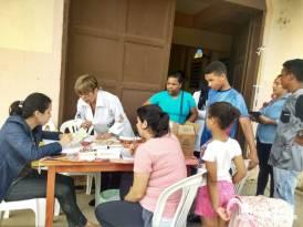 Vacinação, pesagem para o Bolsa Família e verificação de pressão são algumas das ações realizadas em Sebastiana