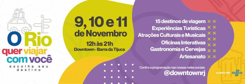'O RIO QUER VIAJAR COM VOCÊ': ARTESÃS PARTICIPAM DE EVENTO QUE PROMOVE DESTINOS TURÍSTICOS
