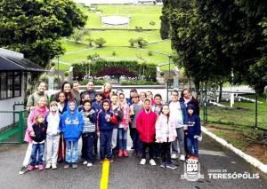 'PROJETO OLHAR TERESÓPOLIS': ALUNOS DE MAIS UMA ESCOLA RURAL PARTICIPAM DE PASSEIO