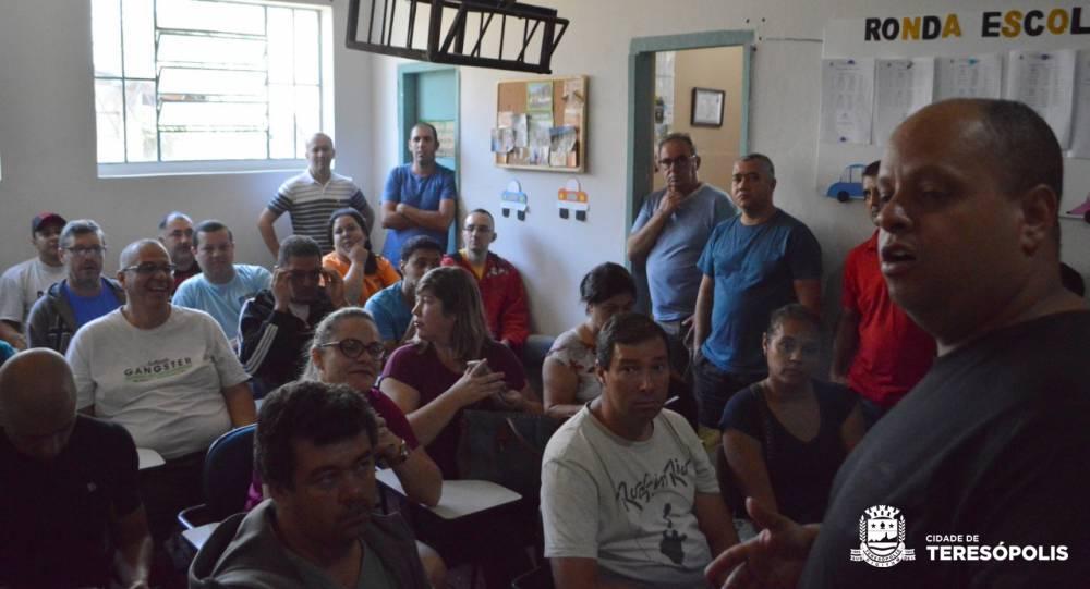 Guarda Civil Municipal orienta condutores de vans escolares para o ano letivo de 2019