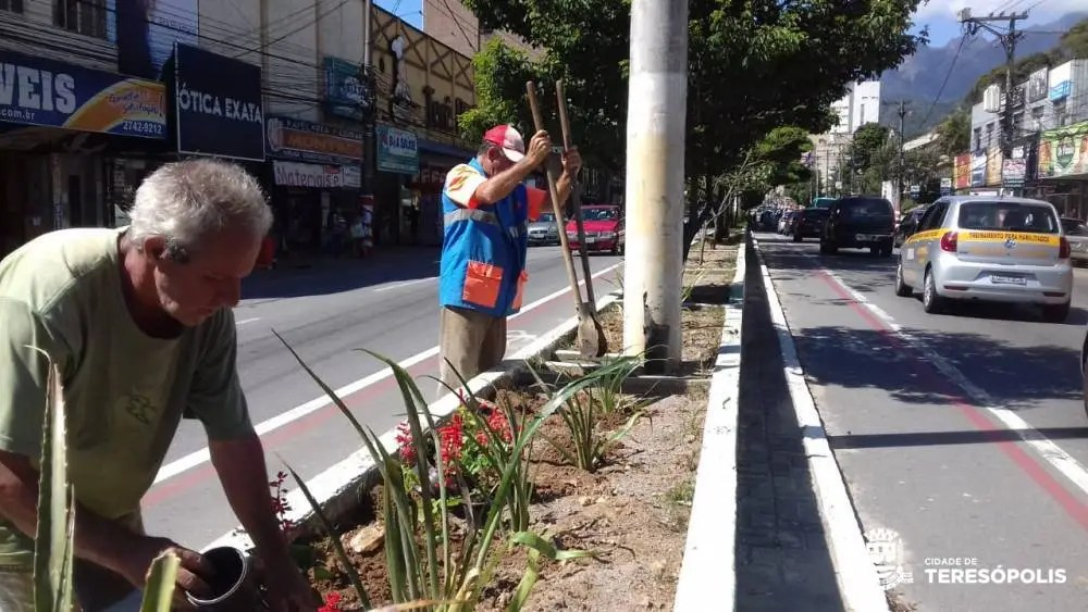 Prefeitura realiza serviços de capina e limpeza em 20 ruas e 5 praças
