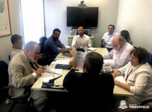 Com participação ostensiva do Ministério Público foram firmadas cessão e doações à Prefeitura de Teresópolis de partes do terreno da Sudamtex