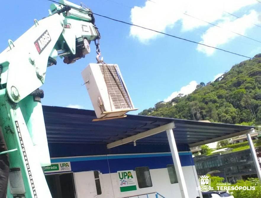 UPA recebe novos aparelhos de ar-condicionado