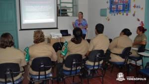 Secretaria da Mulher capacita agentes femininos da Guarda Municipal