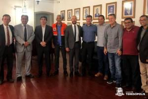 Prefeito Vinicius Claussen é eleito vice-presidente do Conleste
