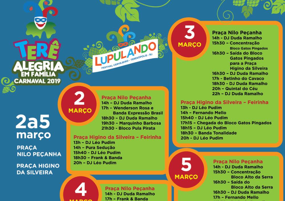 Carnaval 2019 'Terê Alegria em Família'