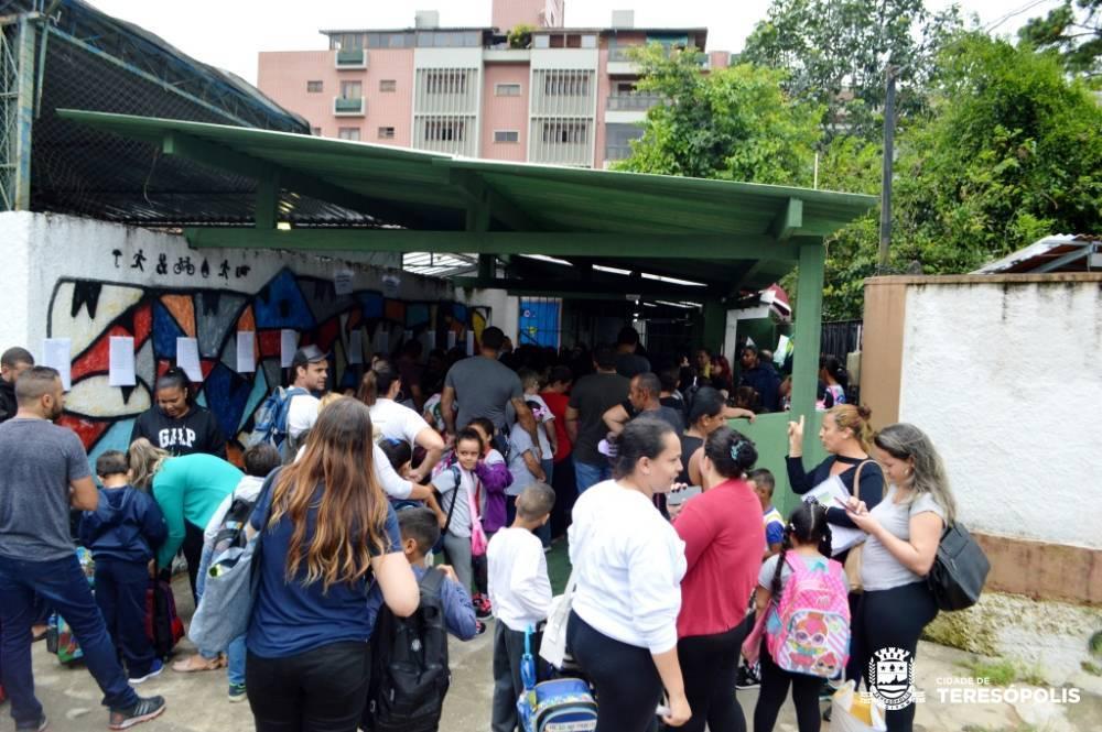 Investimentos e reformas marcam o ano letivo na rede municipal de Teresópolis