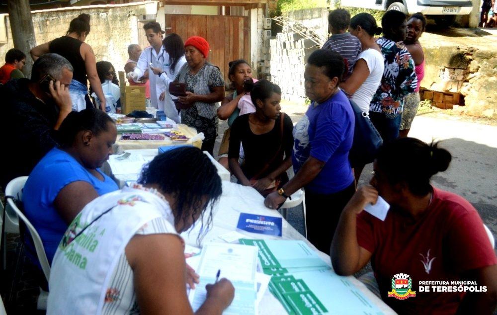 'Operação Prefeitura Presente': Quinta Lebrão recebe ação social