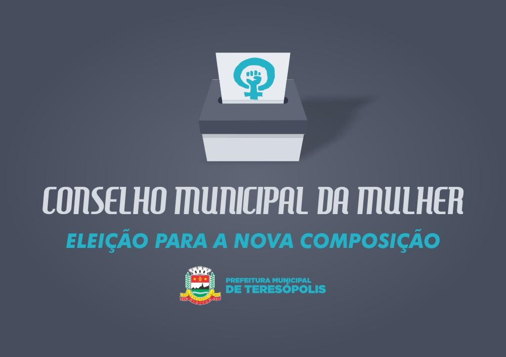 Fórum nesta quinta, 16 de maio, elege nova composição do Conselho da Mulher de Teresópolis