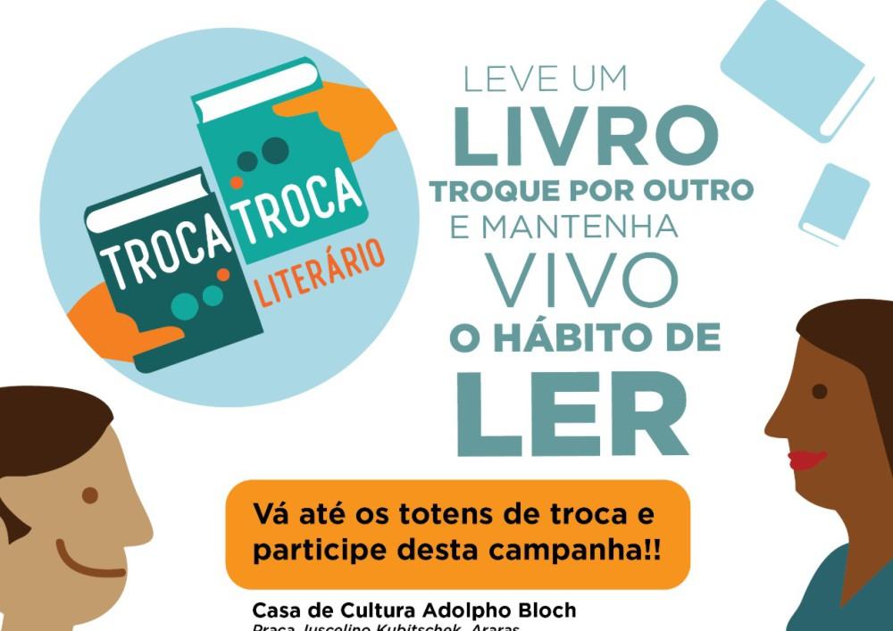 'Troca-Troca Literário': troque um livro por outro e mantenha vivo o hábito de ler