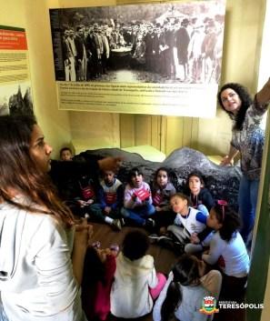 Visita mediada com alunos da rede municipal de Educação