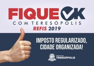 'Fique Ok com Teresópolis': Moradores podem aproveitar feriadão para aderir à campanha de renegociação de dívidas com a Prefeitura