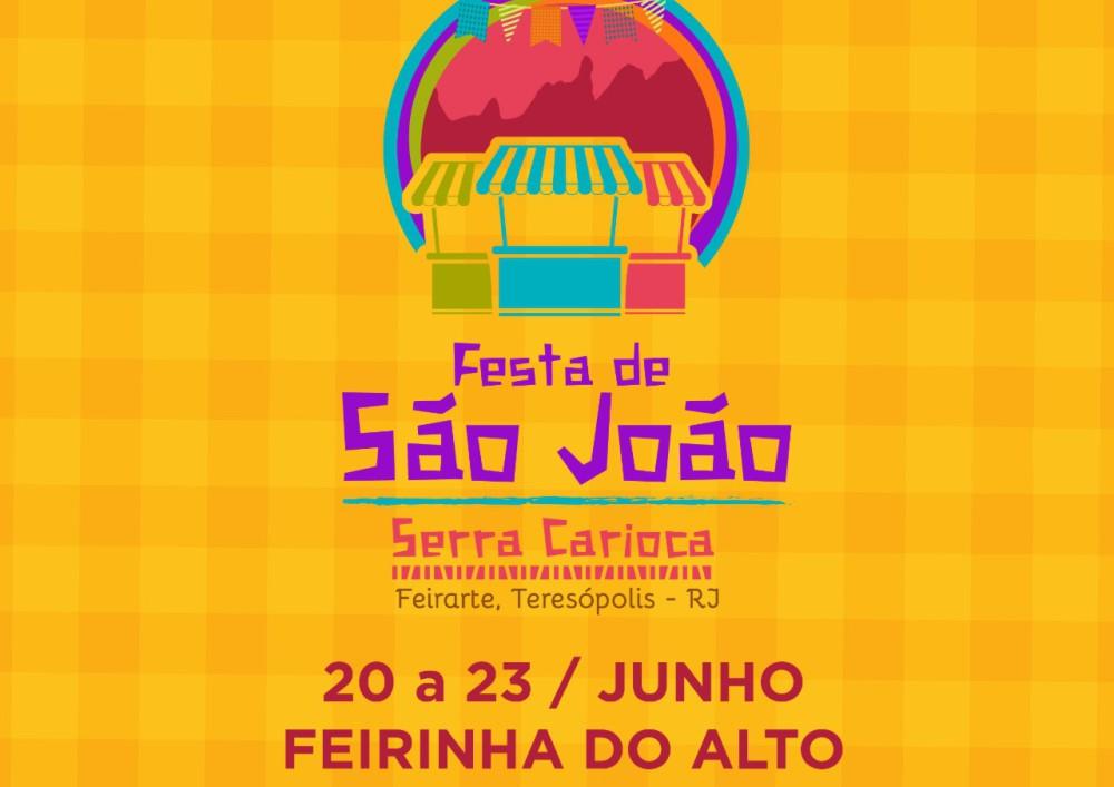 Festa de São João toma conta da Feirinha do Alto
