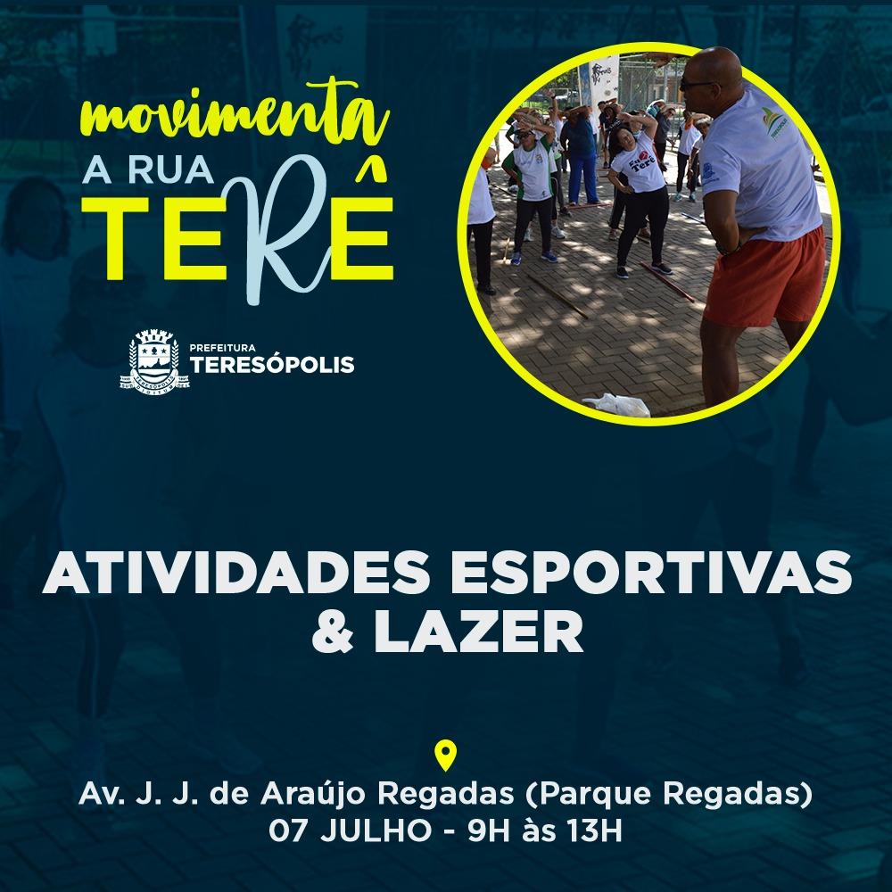 Novo projeto de lazer e esportes vai movimentar as ruas de Teresópolis