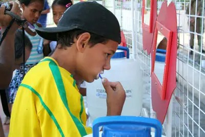 Novo escovódromo do Cemusa vai promover saúde bucal entre as crianças