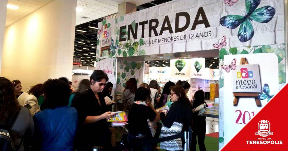 Artesãos de Teresópolis buscam novidades em técnicas e materiais na maior feira da América Latina
