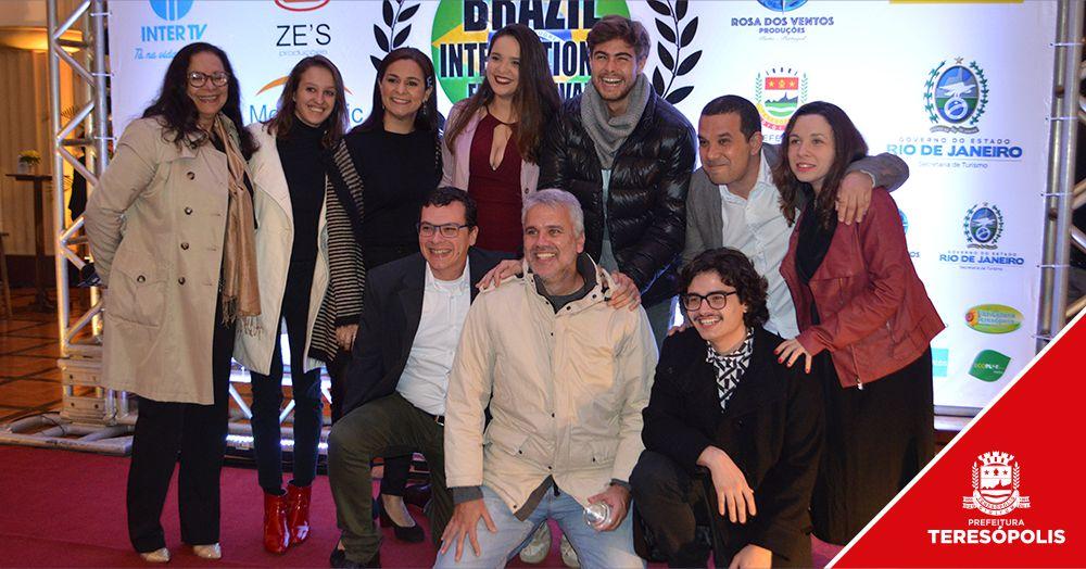 Brazil International Film Festival – Noite de premiação reúne artistas e convidados no Espaço Cultural Higino