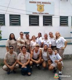 Agentes da Ronda Escolar de Teresópolis e do Rio fazem intercâmbio de treinamento