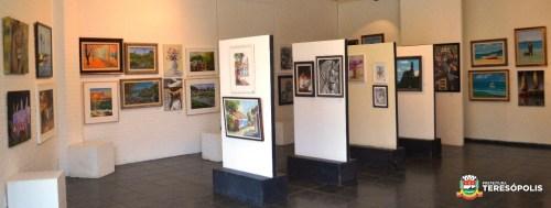 Algumas obras do 27º Salão Nacional da Primavera Soarte