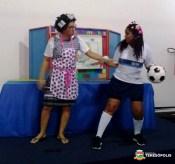 Teatro, uma das atividades para trabalhar na Ronda Escolar