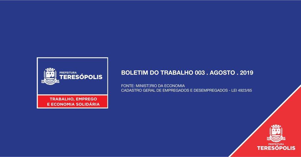 Teresópolis registra melhor agosto em saldo de empregos dos últimos 5 anos