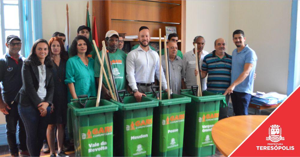 Programa 'Gari Comunitário' começa a ser implantado em Teresópolis