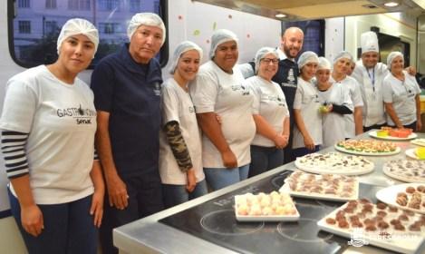 'Emprega Terê': contratados pela Prefeitura, cursos de gastronomia do SENAC já começaram