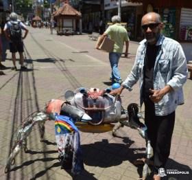 Artista plástico Xando Pernambuco participa das atividades pelo Dia Nacional da Cultura (JM)