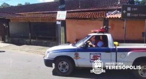 COVID-19: Defesa Civil orienta população sobre medidas preventivas através das sirenes e de seus veículos