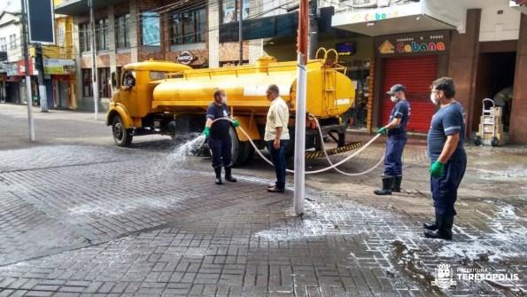 Lavagem Calçada da Fama