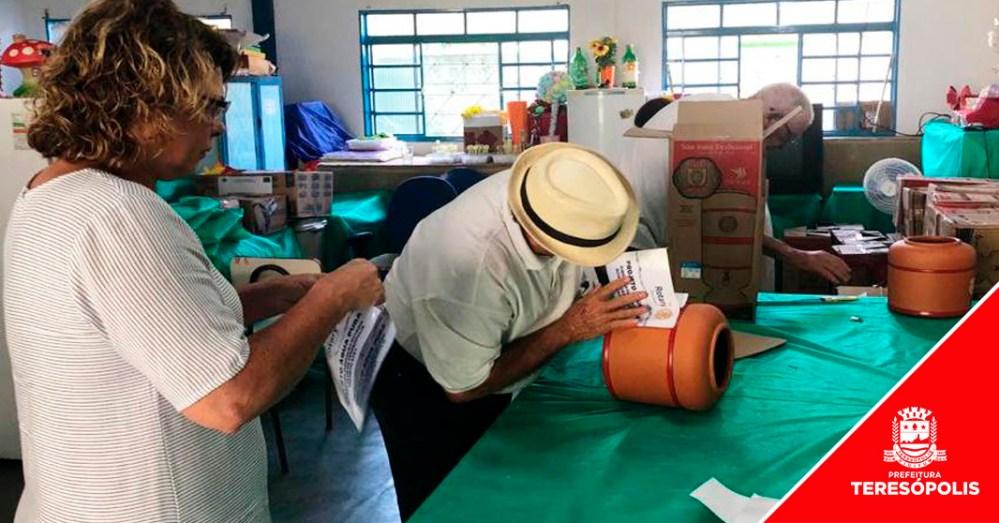 Projeto 'Água Pura': 54 famílias atendidas pelo CRAS Meudon recebem filtros e velas