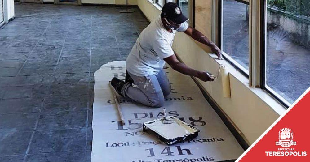 Casa de Cultura recebe serviços de revitalização