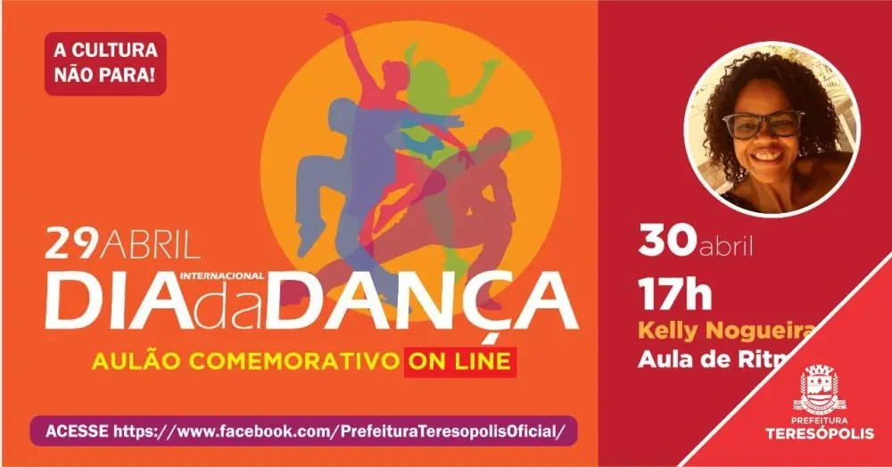 Dia Internacional da Dança será comemorado com aulão online de Ballet, nesta quarta, 29, e de Zumba na quinta, 30