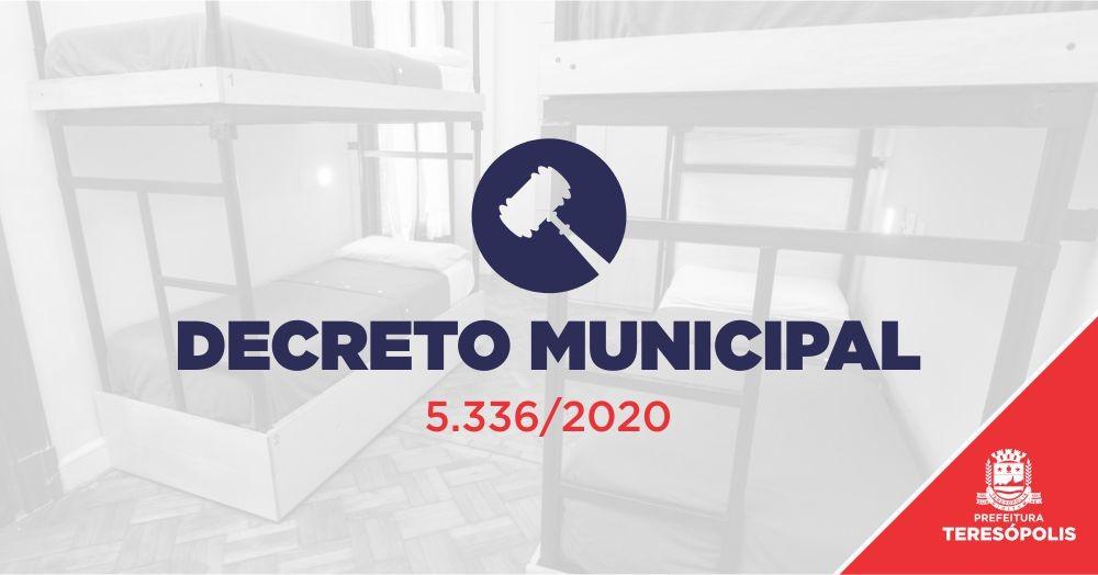 Decreto municipal autoriza hospedagem em hotéis e pousadas até 28 de julho