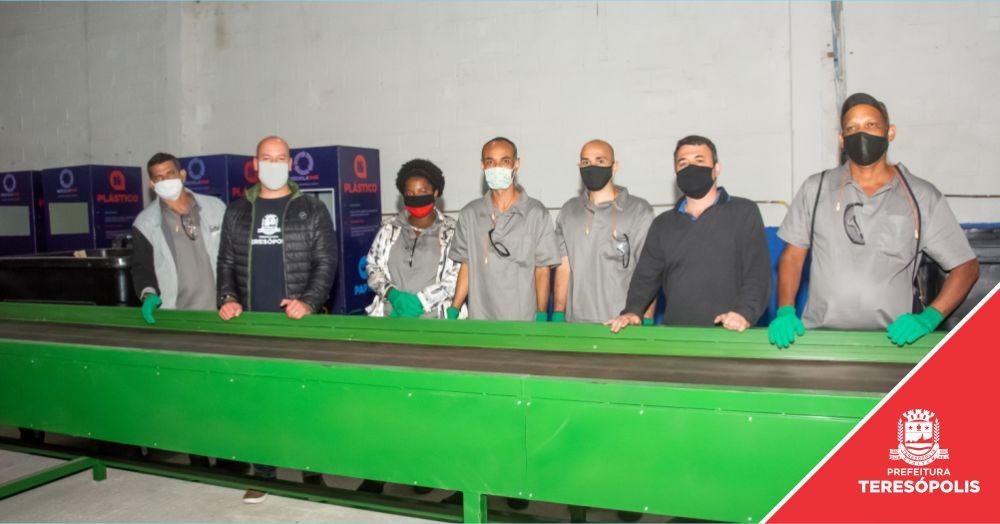 'Recicla Terê': programa municipal de coleta seletiva já está funcionando
