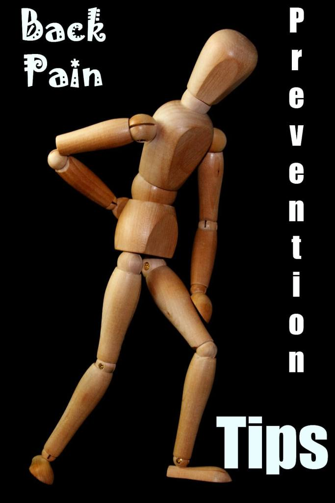 back pain prevention tips