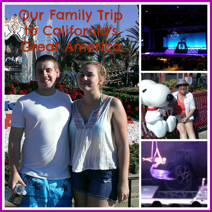 Our family trip to California's Great America