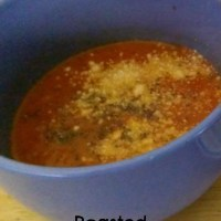 Roasted Tomato Herb Soup